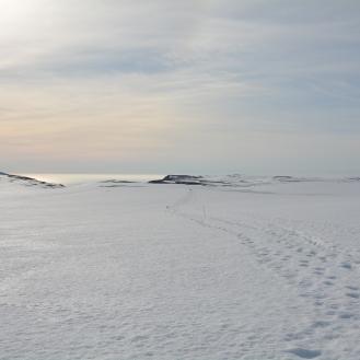 0009 Dag 1, 8. juni, På ski ut til Knivskjellodden