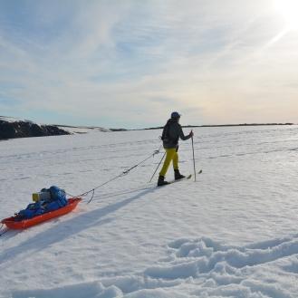 0011 På ski ut til Knivskjellodden