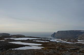 0017 Utsikt mot Nordkapp på tilbakeveien fra Knivskjellodden