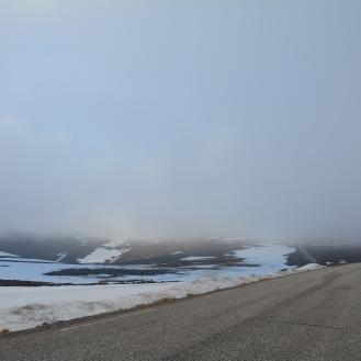 0024 På vei fra Nordkapp til teltet