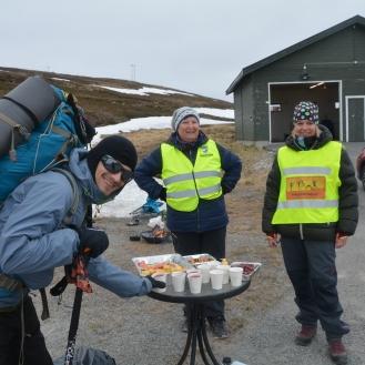 0030 Honningsvåg maraton byr på mat og drikke