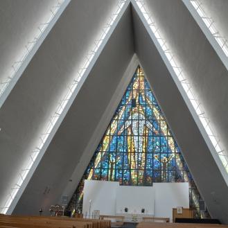 0166 Ishavskatedralen Tromsø