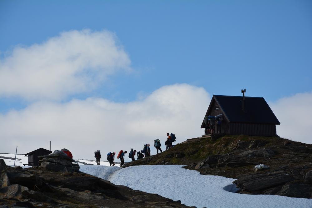0341 Tjäktapasset, Kungsledens høyeste punkt, 1150 moh