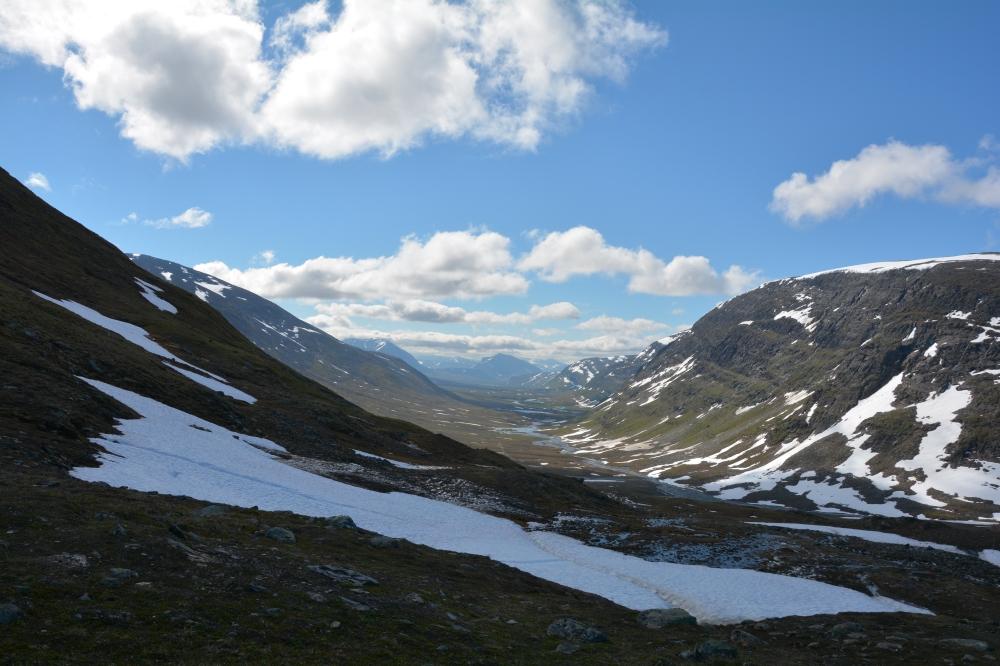 0344 Utsikt utover Tjäktavagge