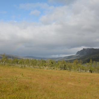 0711 Blåfjella-Skjækerfjella nasjonalpark