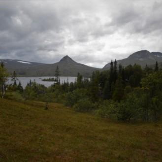 0727 Blåfjella-Skjækerfjella nasjonalpark