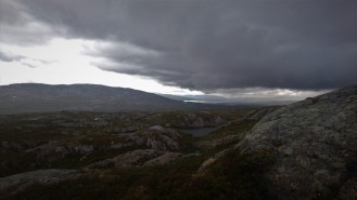 0733 Blåfjella-Skjækerfjella nasjonalpark