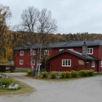 1014 Rondane gjestegård, hvor mor og far møtte meg, og hvor vi bodde to netter.