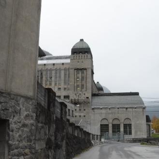 Såheim kraftverk, Rjukan. Bygget 1914